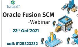 Oracle Fusion SCM Online Webinar-Free