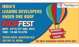 Propfest 2019 - Biggest Property Show in Delhi NCR Noida