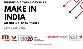 Expert Talk: Business Beyond COVID-19: Make in India