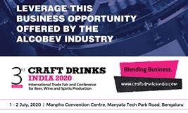 Craft Drinks India 2020 | India's Only AlcoBev Show | 1-2 July | Bangalore