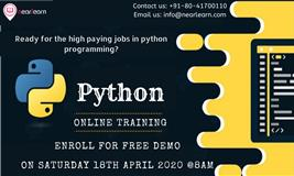 Get 50% off on online python trainng