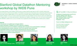 Stanford Global Datathon Mentoring workshop by WiDS Pune