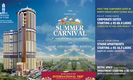 Supertech Summer Carnival at Sector 74 Noida.