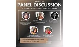 Prinseps to host a panel discussion 'Discovering the layers, Bhanu Athaiya' on 21 July