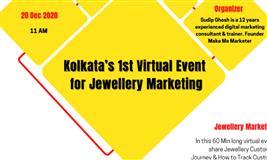 Kolkata's 1st Virtual Event for Jewellery Marketing