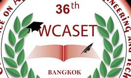 36th World Conference on Applied Science, Engineering & Technology