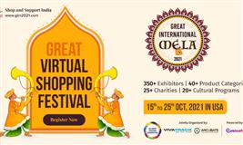 Great International Mela 2021 - Shop and Support India