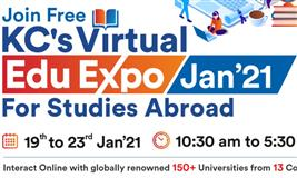 KC's Virtual Edu Expo Jan 2021 for Studies Abroad
