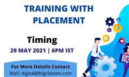 Free Digital Marketing Training with Placement with BigClasses