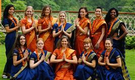 200 Hour Yoga Teacher Training in Rishikesh Yogpeeth Abhayarnya, India.