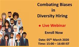 [Webinar] Combating Biases in Diversity Hiring