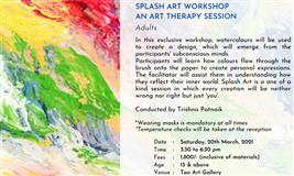 SPLASH ART WORKSHOP: An Art Therapy Session at Tao Art Gallery