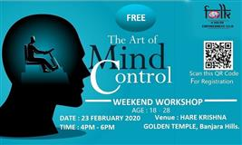 ART OF MIND CONTROL - FREE Workshop at ISKCON - Hare Krishna Golden Temple