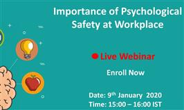 [Webinar] Importance of Psychological Safety at Workplace