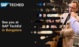 SAP TechEd 2019 - Bangalore