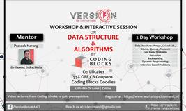 Workshop & Interactive Session on Data Structure & Algorithms