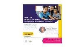 HOW CAN PARENTS CULTIVATE CHILDREN TO BE LIFE LONG LEARNERS