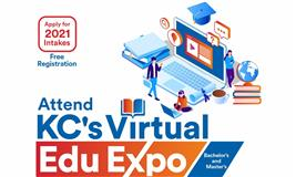 Attend KC's Virtual Edu Expo for Studies Abroad and Apply for 2021 intake