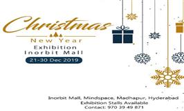 Christmas & New Year Exhibition in Inorbit Mall, Hyderabad - BookMyStall