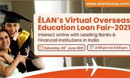 ÉLAN's Virtual Overseas Education Loan Fair-2021