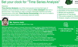 "Set your clock for ""Time Series Analysis"""