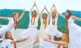 100 Hour Yoga Teacher Training in Rishikesh, India Om Shanti Om Yoga Ashram