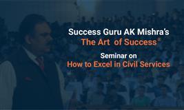 Art of Success Seminar on Civil Services Examination' held at , Shimla