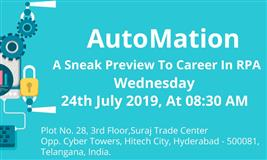 Automation Anywhere Demo in  Hyderabad