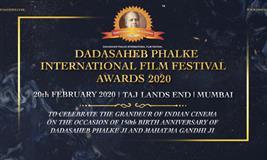 DADASAHEB PHALKE INTERNATIONAL FILM FESTIVAL AWARDS 2020