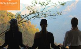 500 Hour Yoga Teacher Training in Rishikesh Yogpeeth, India.