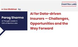 Webinar - AI for data-driven Insurers
