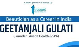 Beautician as a career in India