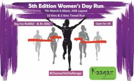 5th Edition of Women's Day Run