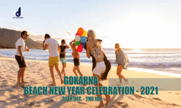 Beach New Year Celebration In Gokarna