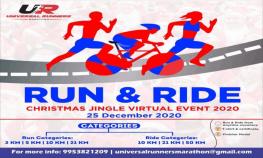 Christmas Jingle Virtual Run & Ride 2020