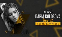 Daria Kolosova Live at Raahi Bangalore