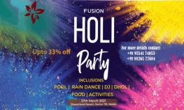 Fusion Holi Party