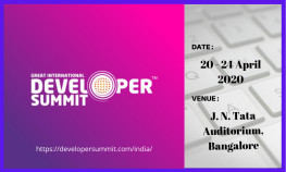 Great International Developer Summit 2020