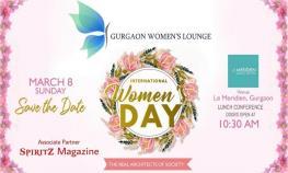 Gurgaon Women's Lounge celebrates International Women's Day