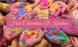 Holi Celebration at Kovalam
