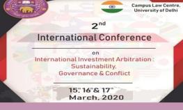 International Conference on International Investment Arbitration 2020