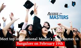 Meet top international Master's programmes in Bangalore