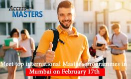 Meet top international Master's programmes in Mumbai