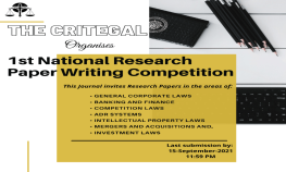National Research Paper Writing Competition