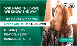 Online One to One MBA Event