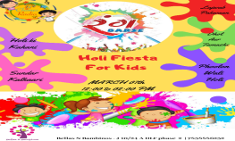 Rang Barse 2.0 Holi Fiesta for kids