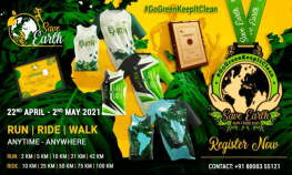 Save Earth Run Ride 2021