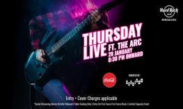 Thursday Live ft. The Arc