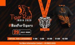Tiger -Run -India- 2020