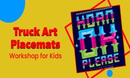Truck Art Placemats | IndiaEve
